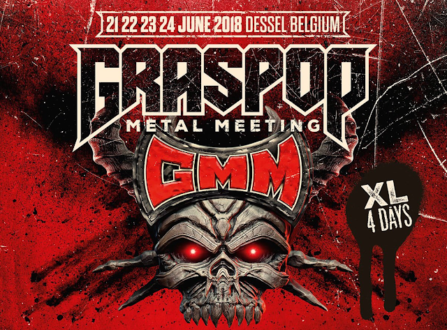Line-up completo Graspop Metal Meeting 2018 Bélgica