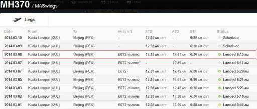 Pesawat MAS Dengan 239 penumpang Ke Beijing Dilaporkan Hilang
