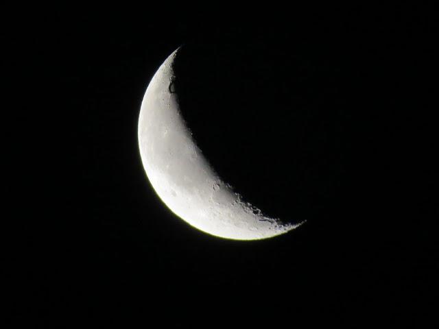 Lunas Júpiter: FASE DE CUARTO MENGUANTE