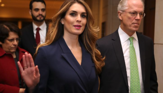 Hope Hicks Will Resign as White House Communications Director