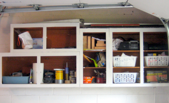 Primed the cabinets: Recycled Cabinet Doors | DIY Playbook