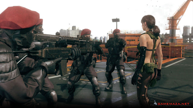 Metal Gear Solid V Ground Zeroes Gameplay Screenshot 5