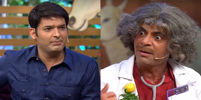 Fight between Kapil Sharma and Sunil Grover