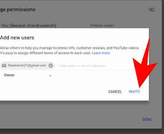 Youtube channel me multiple gmail id add kaise kare 7