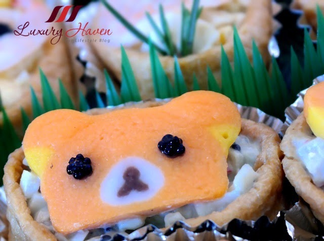delicious rilakkuma sushi appetizers kids recipe