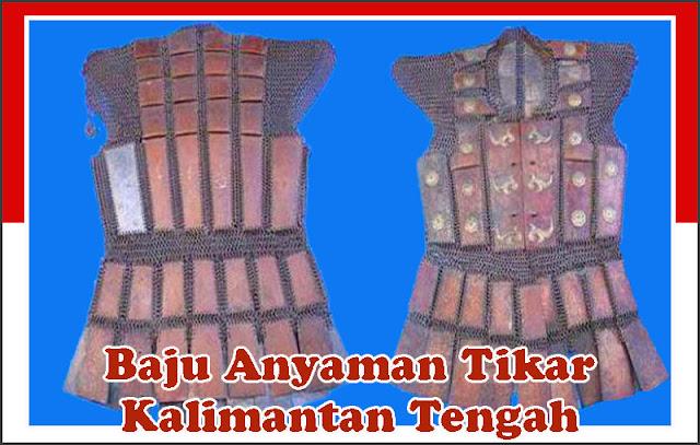 Gambar Baju Anyaman Tikar Kalimantan Tengah