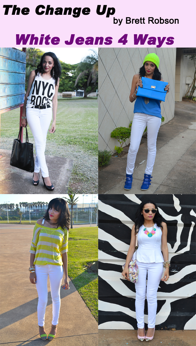 The Change Up: Woolworths White Jeans