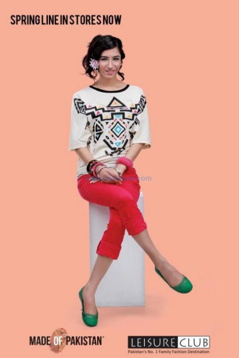 642e070bc85f Leisure Club Spring Summer T-Shirts -Tights and Jeans Collection ...