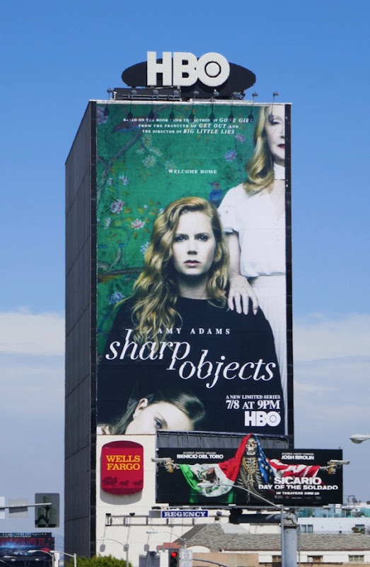 Giant Sharp Objects series premiere billboard