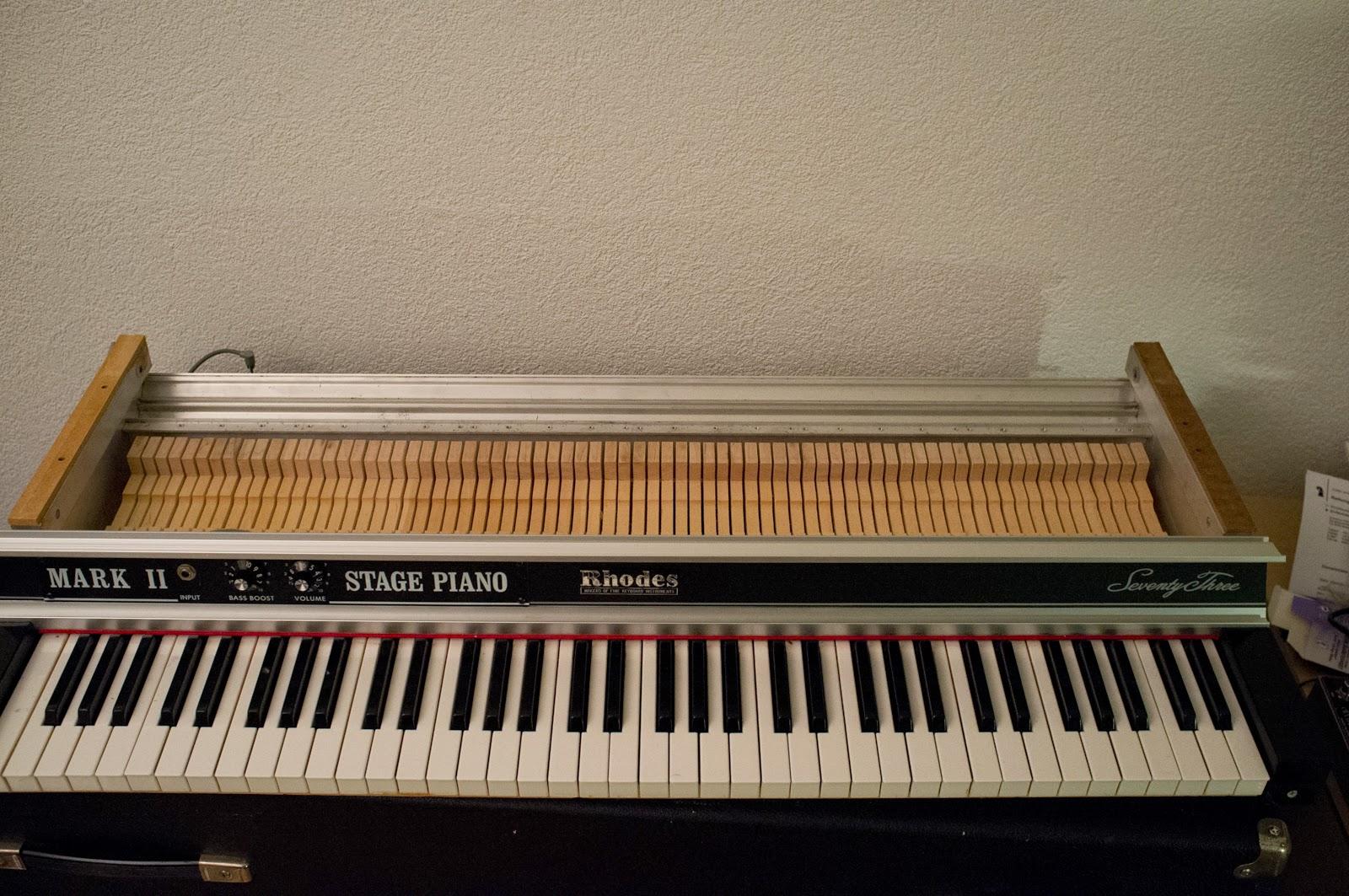 Full Set 73 Keys Piano Bridle Straps High Quality Fender Rhodes