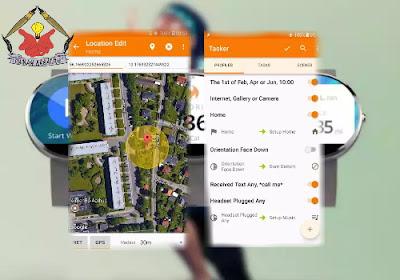 tampilan beberapa aplikasi pembantu aktifitas