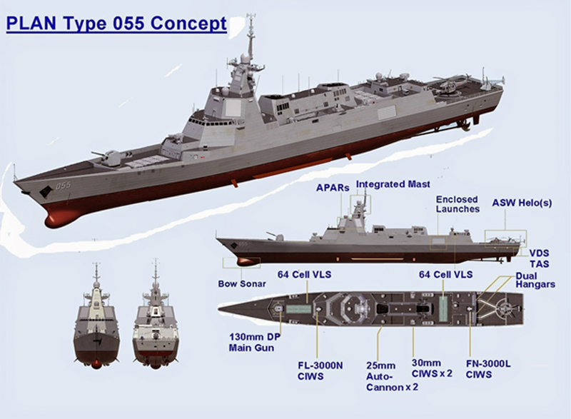 China Launches More 52d Carrier Killer on chinese ddg 052d destroyer 2