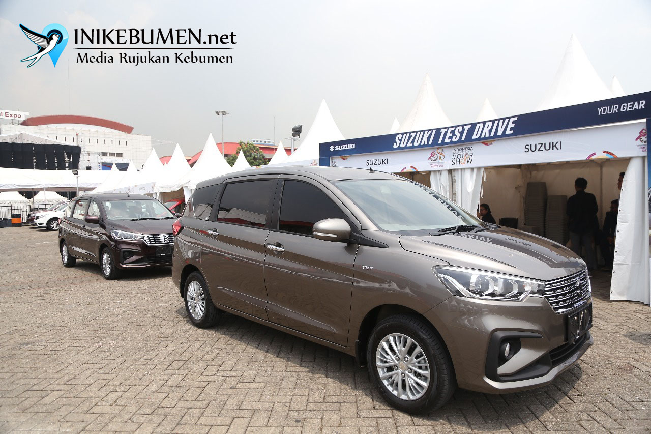 Test Drive Suzuki All New Ertiga Tuai Respon Positif Pengunjung IIMS 2018