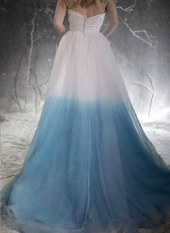 Beautiful Ombre Dress All About Wedding