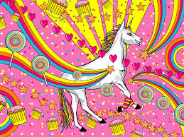 cute unicorn background image