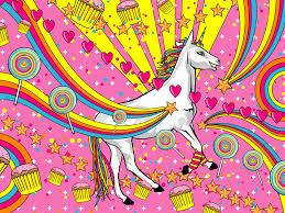 cute unicorn background image