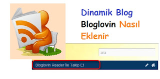 Dinamik Blog Bloglovin