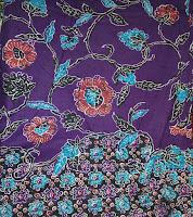 Kain Batik Prima 4918 Ungu
