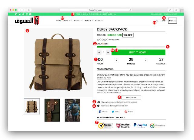 Theme Booster Shopify