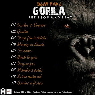 BEAT TAP GORILA - PETILSON MAD BEAT ( ÁLBUM DE INSTRUMENTAIS )