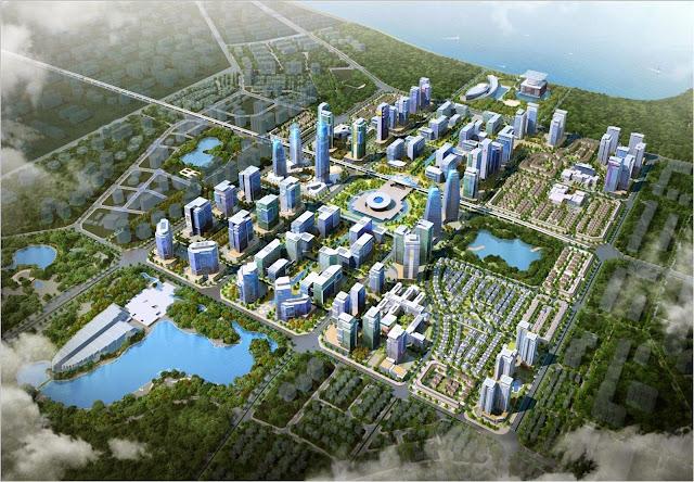Quy hoạch phát triển giai đoạn 1 khu đô thị Tây hồ Tây