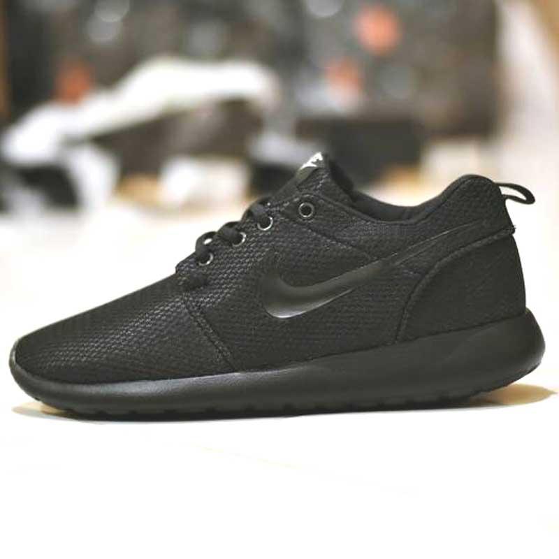 Sepatu Nike Roshe Run Full Black Grade Ori [NR-002
