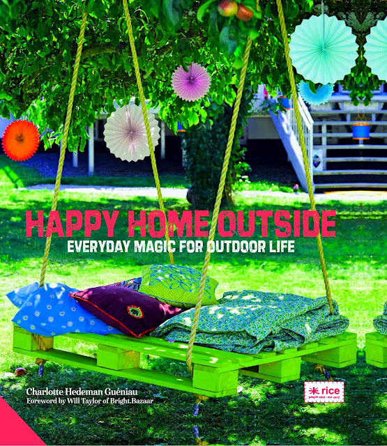 Cover of book - Happy Home Outside by Charlotte Hedeman Guéniau