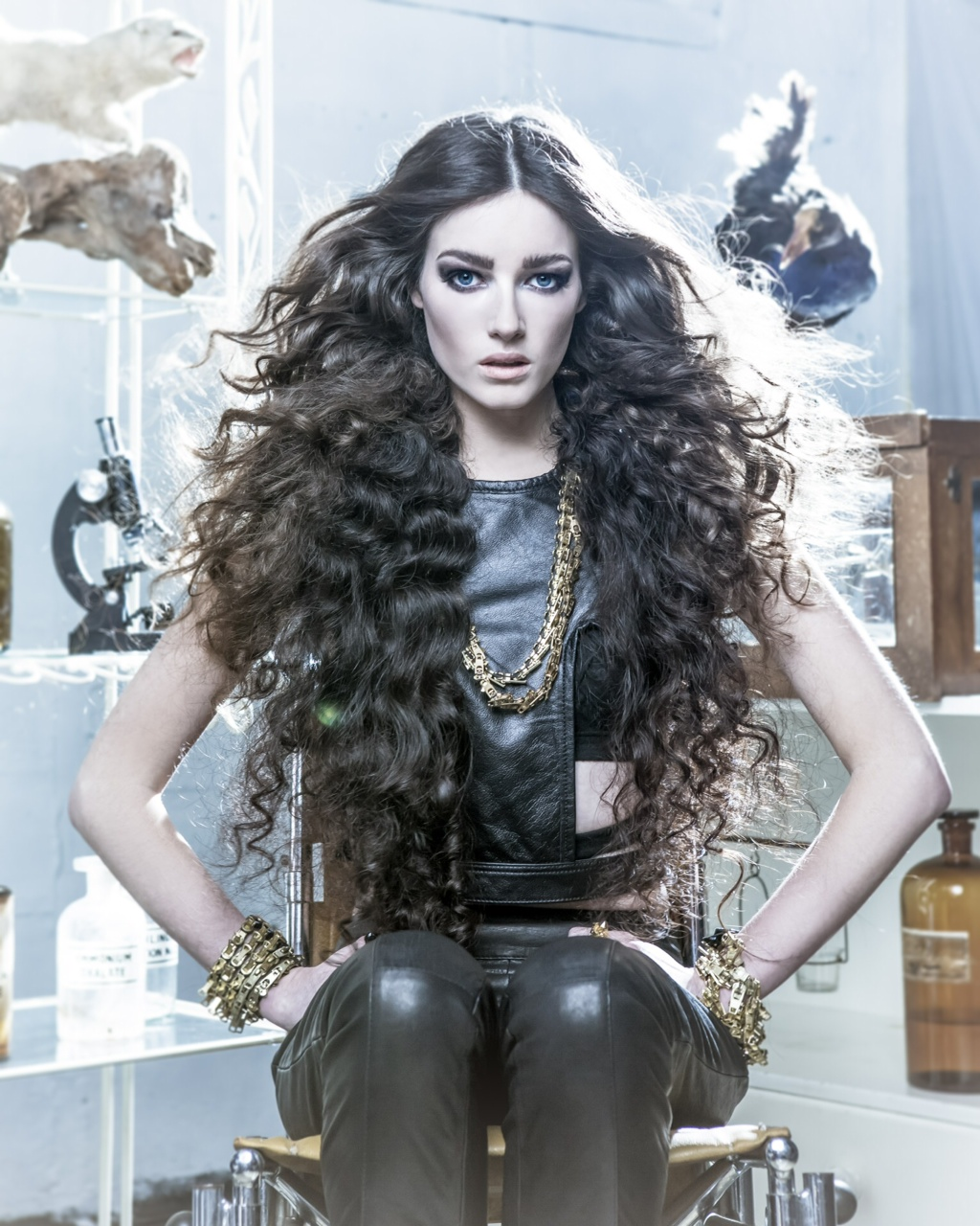 Michael Beel NZ Hairdresser Of The Year Entry