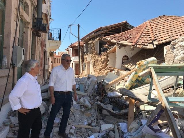 Γ. Μανιάτης: Άμεση αποκατάσταση ζημιών στη Λέσβο