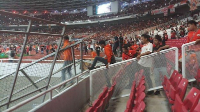 Ada Bagian Rusak di SUGBK Usai Persija Tekuk Bali United