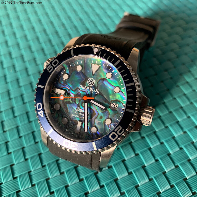 Deep Blue Diver 1000 abalone