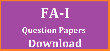 CCE FA / Formative Assessment I Model Question Papers for Primary Classes Free PDF Download Continuous Comprehensive Evaluation FA 1 Question Papers Download for Primary Classes | Formative Assessment I Model Question papers for Teulgu English Mathematics and Environmental Sciences | Download PDF Files for FA I Question papers for Elementary Level cce-fa-formative-assessment-i-model-question-papers-pdf-download