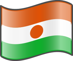 Niger Flag — WikiProject Nuvola, in the public domain
