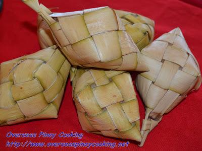 Puso Rice at CNT Lechon