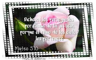 mateo 5:10