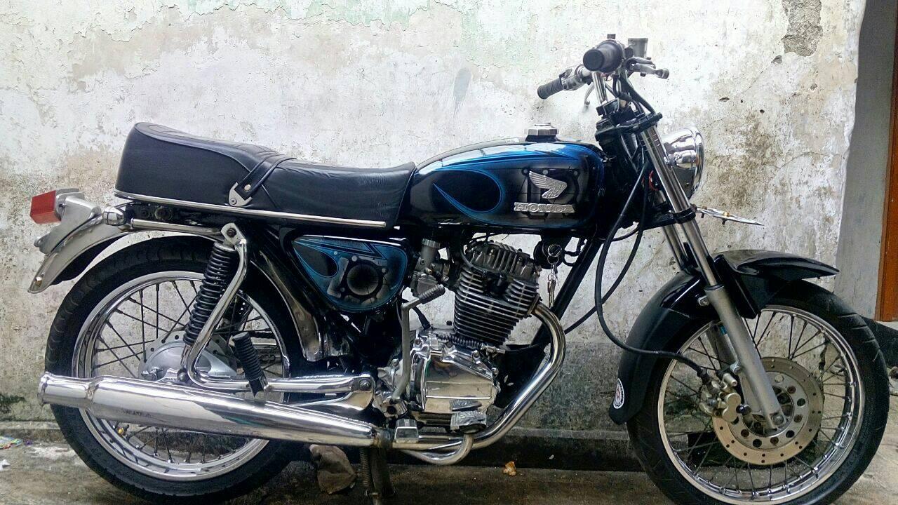 Foto Modifikasi Motor Gl Max Jadi Cb Modifikasi Motor Beat Terbaru