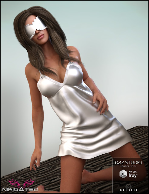 Nighty Night Outfit for Genesis 3 Female