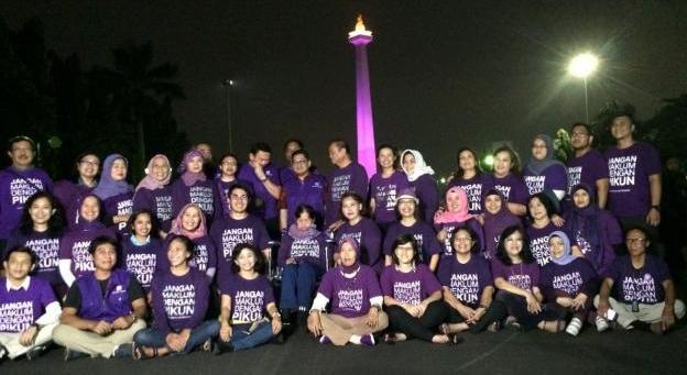 Wow...!! Inilah Pasukan Ungu Ahok yang Akan Berantas Anak Jalanan & Pengemis di DKI