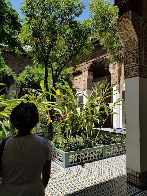 palazzo el bahia marrakech marocco