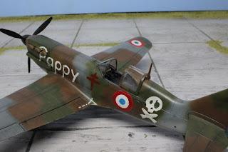 Dewoitine D.520 Warthunder de Tamiya au 1/48.
