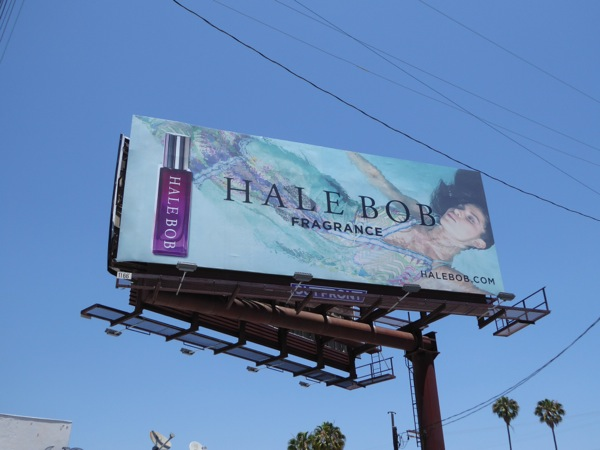 Hale Bob Fragrance Summer 2016 billboard