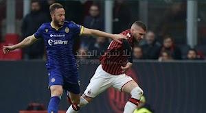 التعادل الاجابي يحسم لقاء ميلان وهيلاس فيرونا في الجولة 22 من الدوري الايطالي