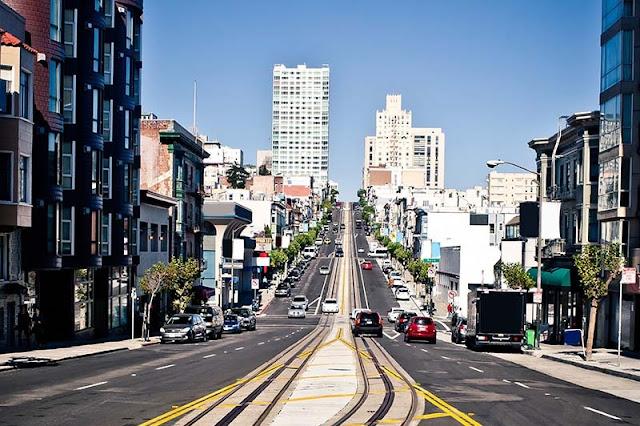 Carros em San Francisco