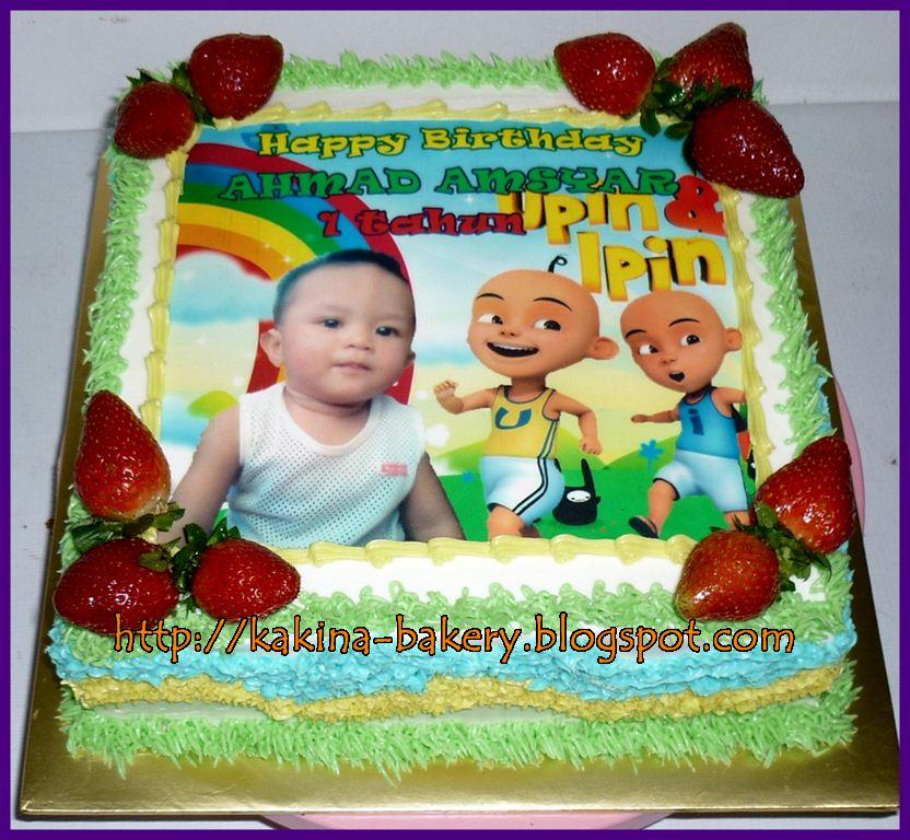 Kakina Sweet Bakery Penang: Birthday Cake Upin Ipin