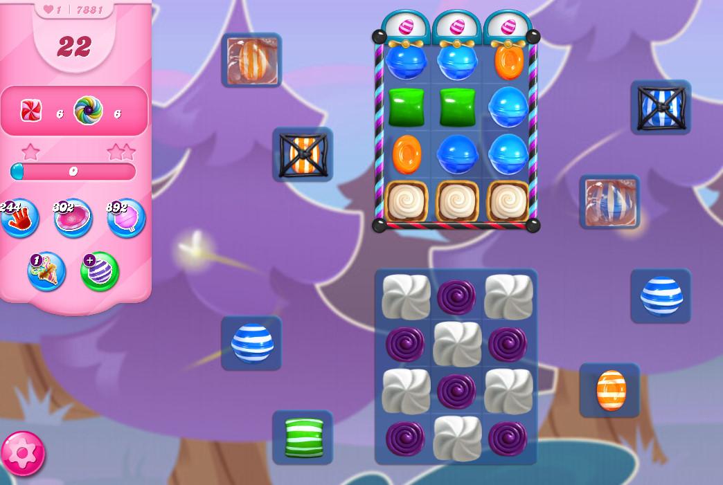 Candy Crush Saga level 7881