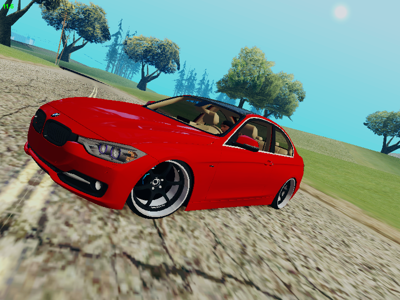 GTA SA - BMW 335i F30 Coupe Advance Wheels
