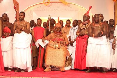 Faces @ the Coronation of New Oba of Benin, His Royal Majesty, Omo n'Oba n'Edo Uku Akpolokpolo, Oba Ewuare II, on Thursday.