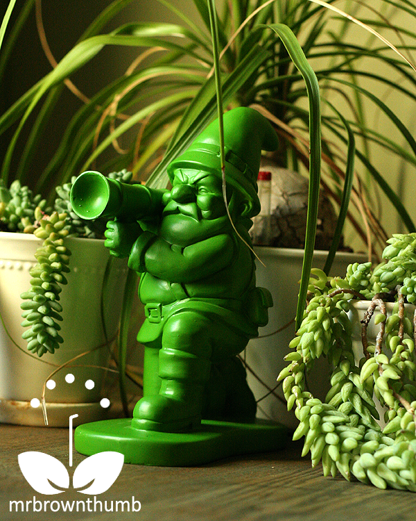 Green Army Man Garden Gnome profile