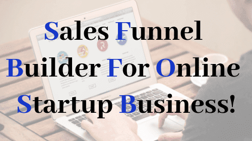 Sales Funnel & Marketing Funnel Builder for Online Business!