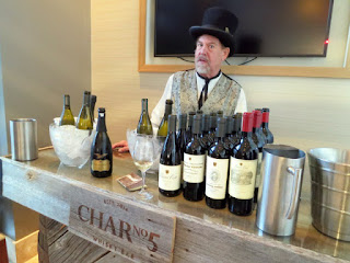 Buena Vista Winery wine tasting at Char Bar